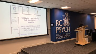 Live Blog: Staff Mental Health & Wellbeing Experience Day
