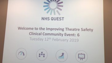 Live blog: Improving Theatre Safety Clinical Community – event 6